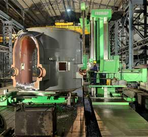 Power plant equipment  Heavy Machining India